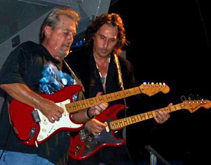 Dave Valliere and Dan Toler of the Allman Brothers Band