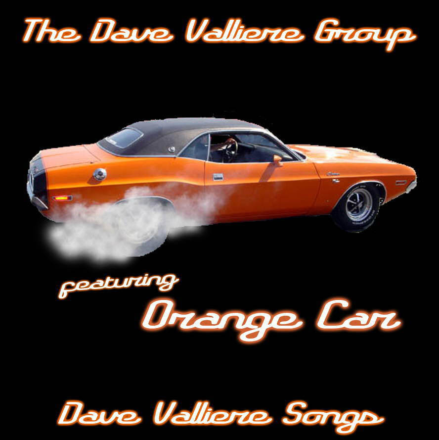 dave_valliere_songs_album_cover_orange_car